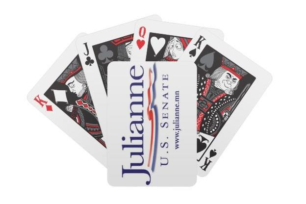 Julianne playing cards