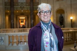 Rep. Phyllis Kahn at the Capitol | Steve Timmer photo