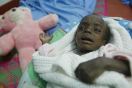 Young African AIDS patient - AP photo