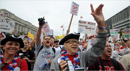 Tea Party rally - Washington Post