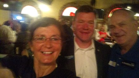 MacDonald and Wardlow at recent campaign event - video screenshot, provenance unknown