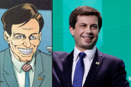 The Smiler and Pete Buttigieg